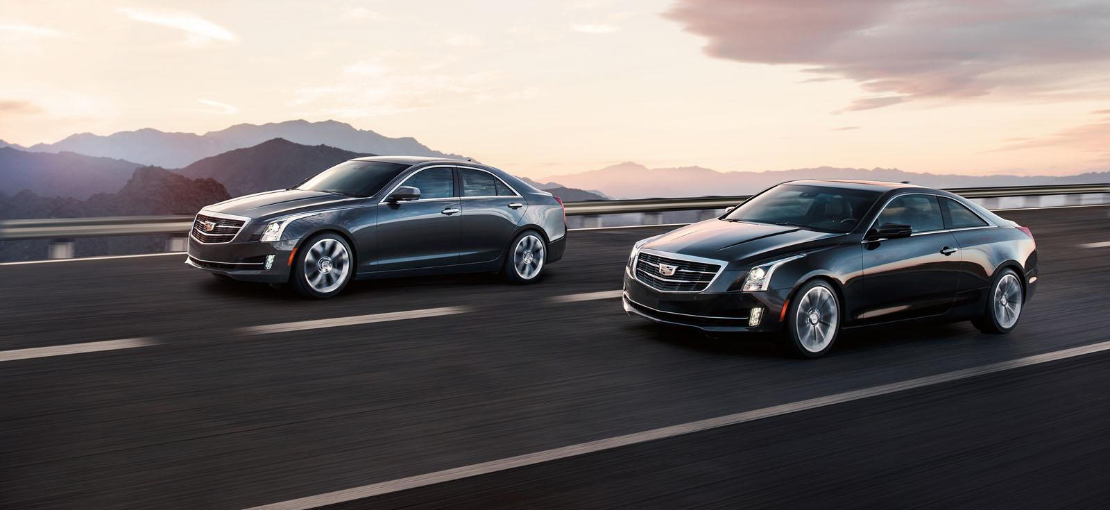 2015 cadillac ats sedan officially unveiled autoevolution. Black Bedroom Furniture Sets. Home Design Ideas
