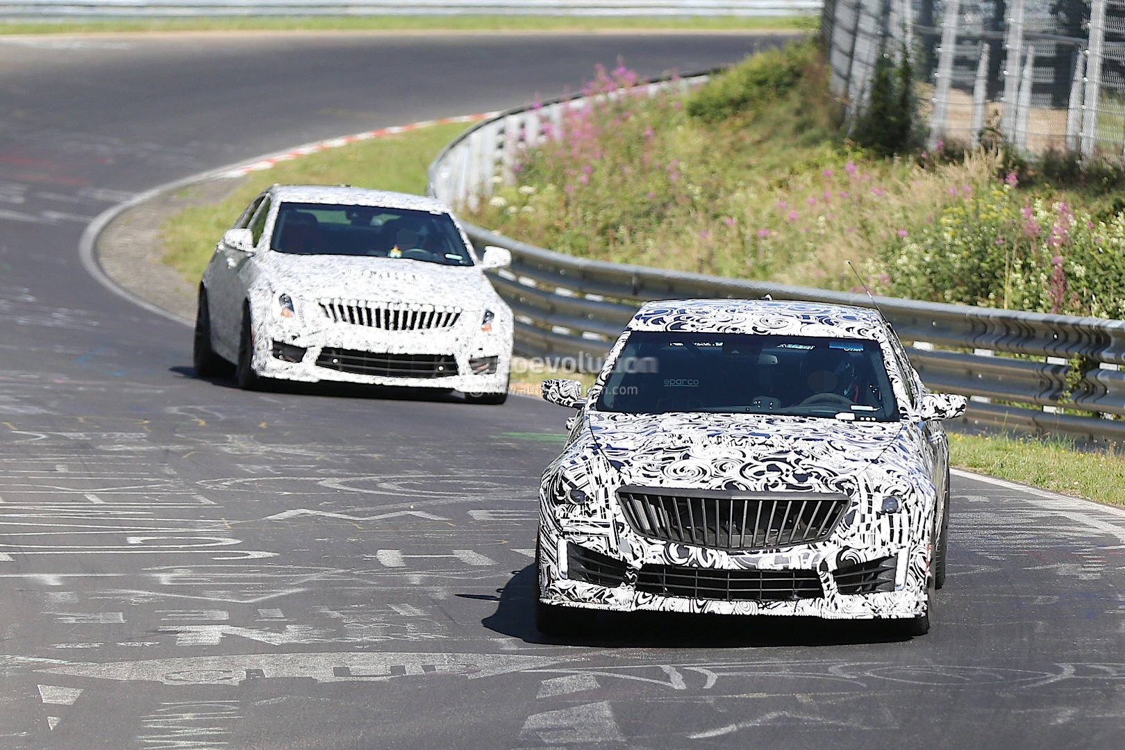 2015 Cadillac Ats V Spied Dropping Hot Laps On The