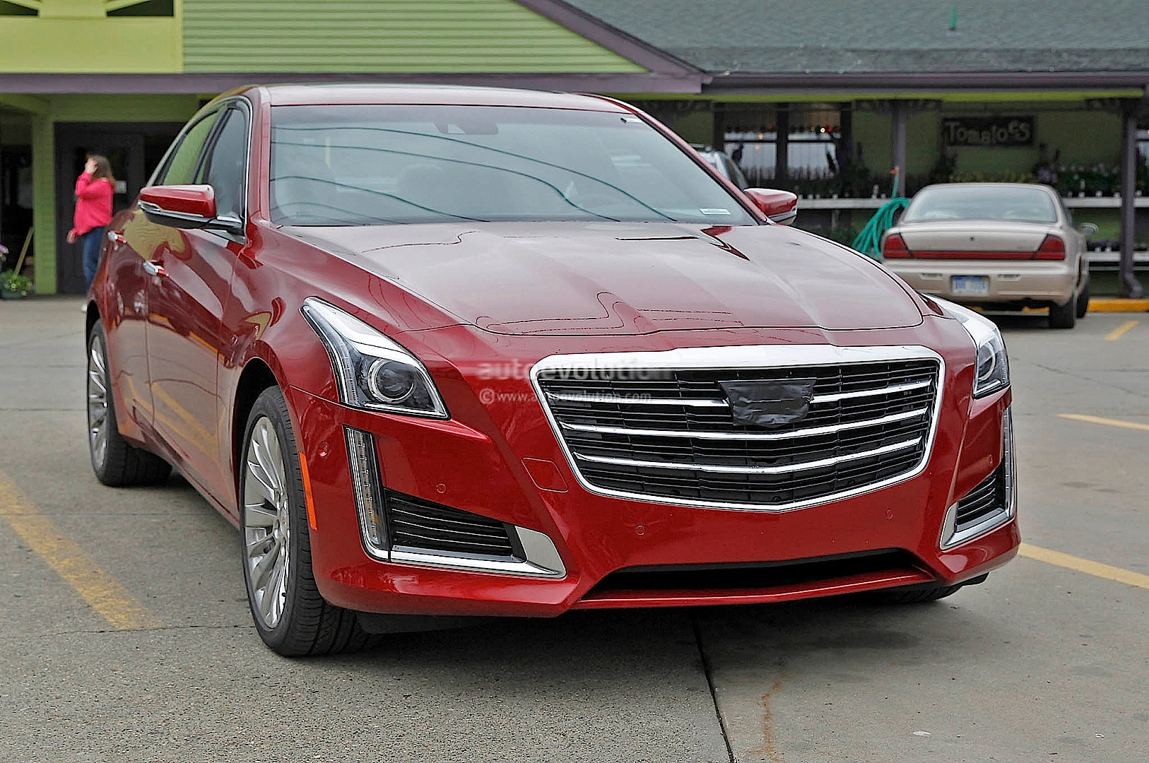 Cadillac Cts Spied Without Camo Photo Gallery