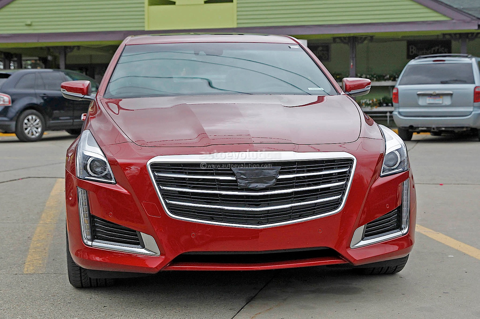 2015 Cadillac Cts Spied Without Camo Autoevolution