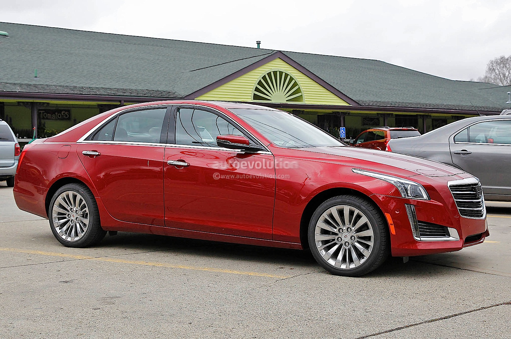 2015 cadillac cts spied without camo photo gallery autoevolution. Black Bedroom Furniture Sets. Home Design Ideas