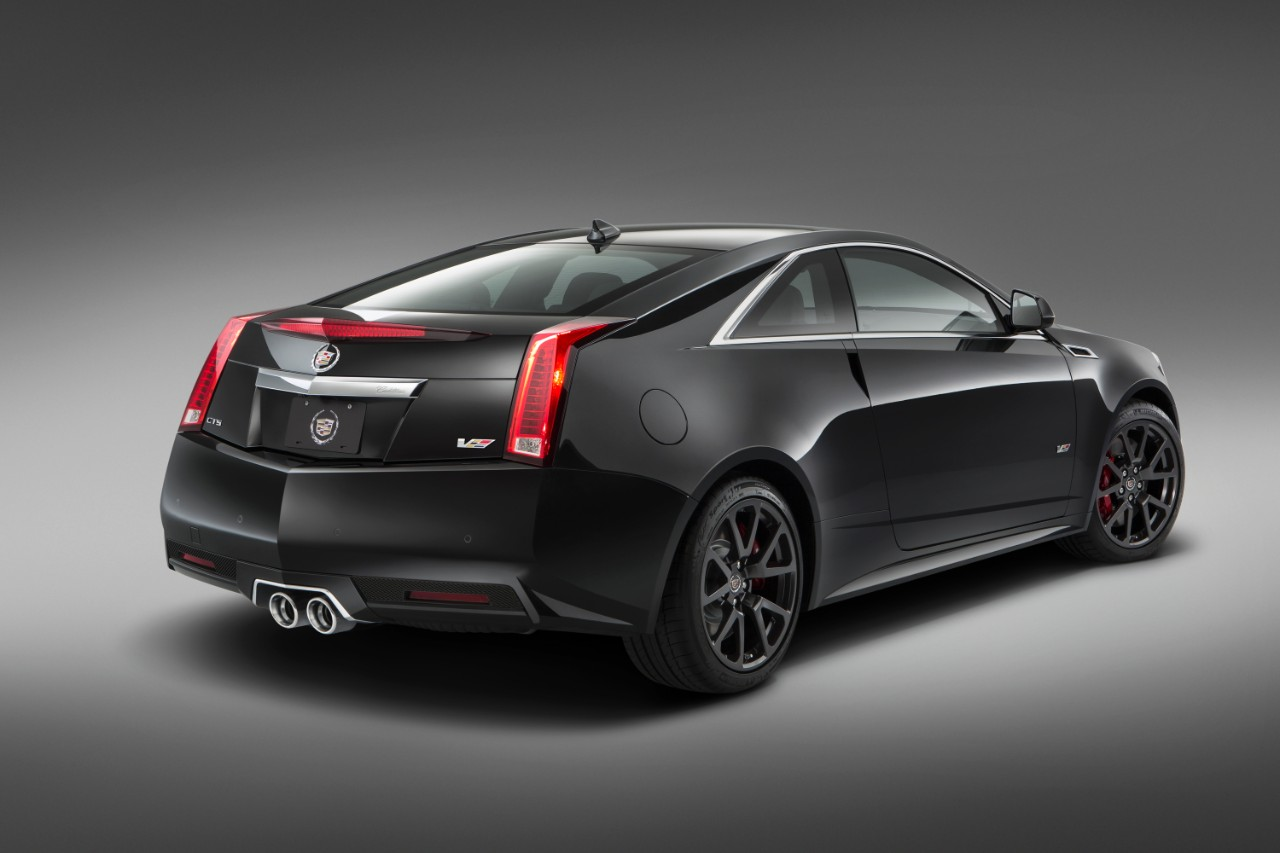 2015 cadillac cts v coupe special edition revealed autoevolution. Black Bedroom Furniture Sets. Home Design Ideas