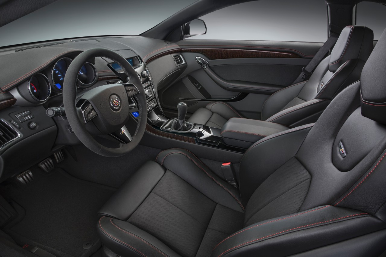 2015 Cadillac CTS-V Coupe Special Edition Revealed [Photo Gallery]