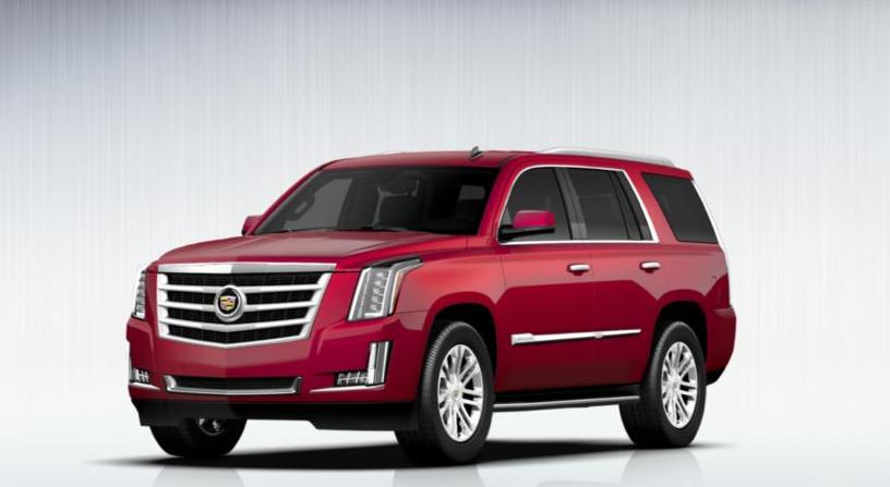 2015 Cadillac Escalade Gets 7 Exterior Colors, 3 Interior ...