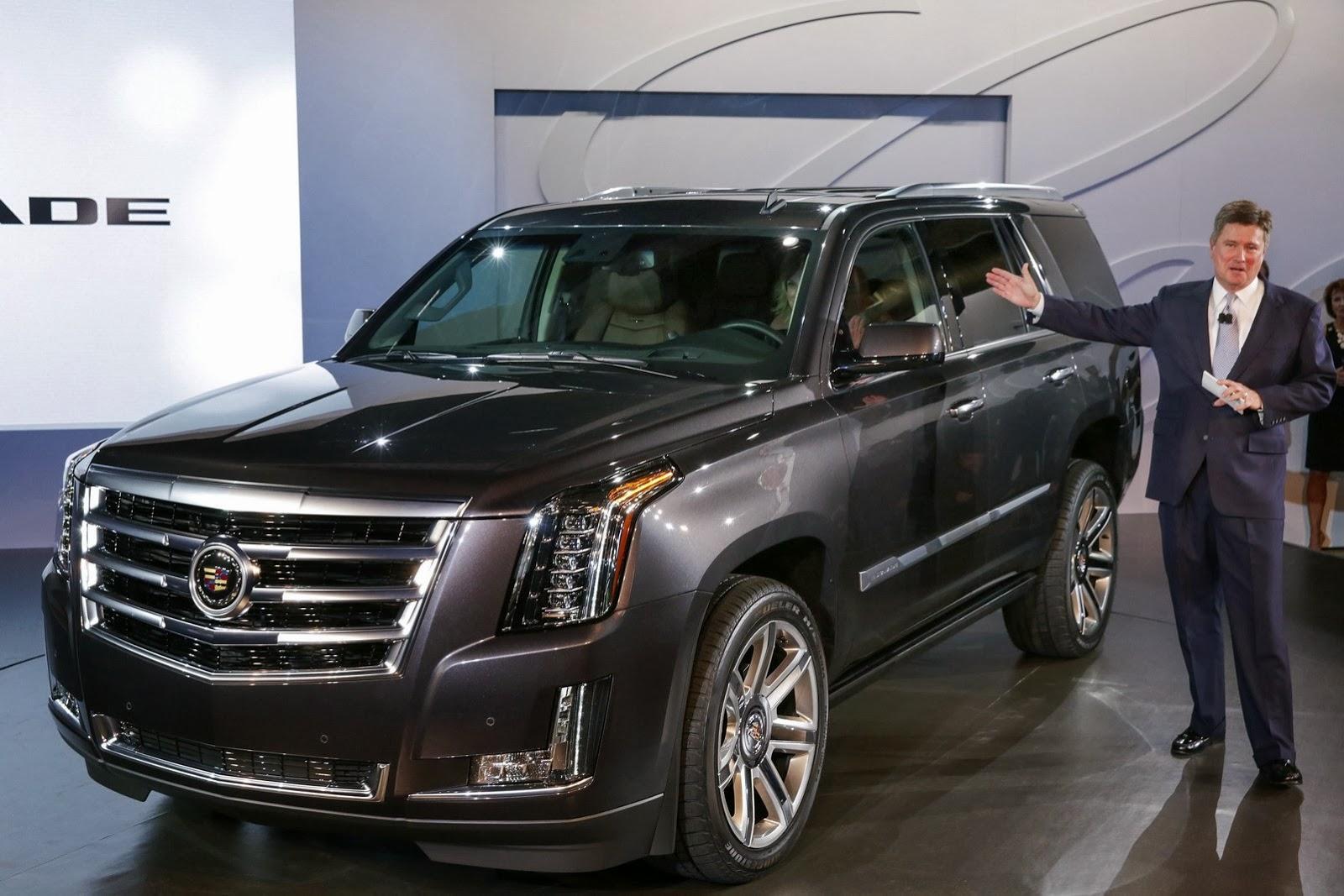 2015 Cadillac Escalade Officially Revealed Autoevolution