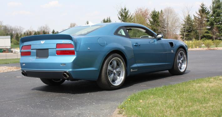 Camaro Z Turned Into Classic Pontiac Trans Am By Lingenfelter Video Photo Gallery