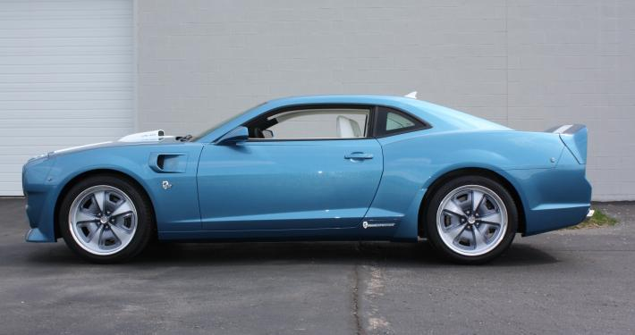 2015 Camaro Z 28 Turned Into Classic Pontiac Trans Am By Lingenfelter Autoevolution