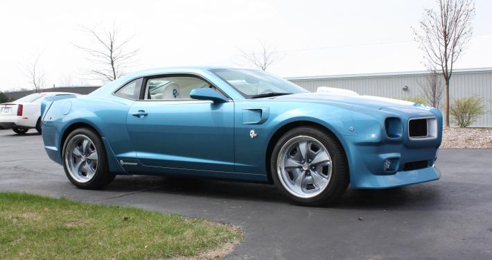2015 Camaro Z 28 Turned Into Classic Pontiac Trans Am By