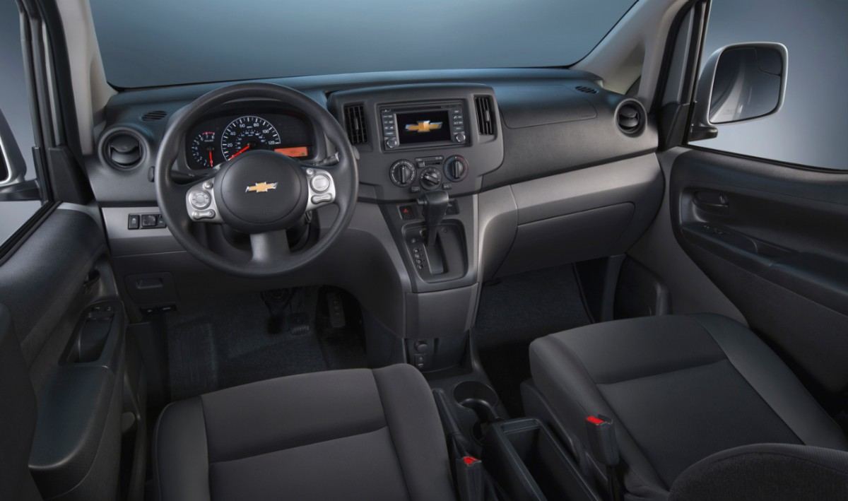 2015 Chevrolet City Express Rated 24 Mpg City 26 Mpg