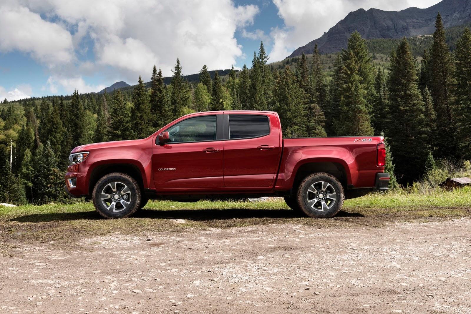 Colorado chevy 2015 colorado 2015 Chevrolet Colorado Breaks Cover in LA - autoevolution