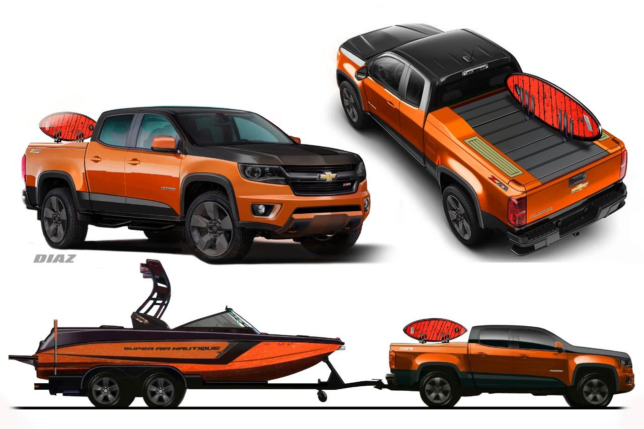 2015 Chevrolet Colorado Concepts Unveiled at SEMA [Video ...