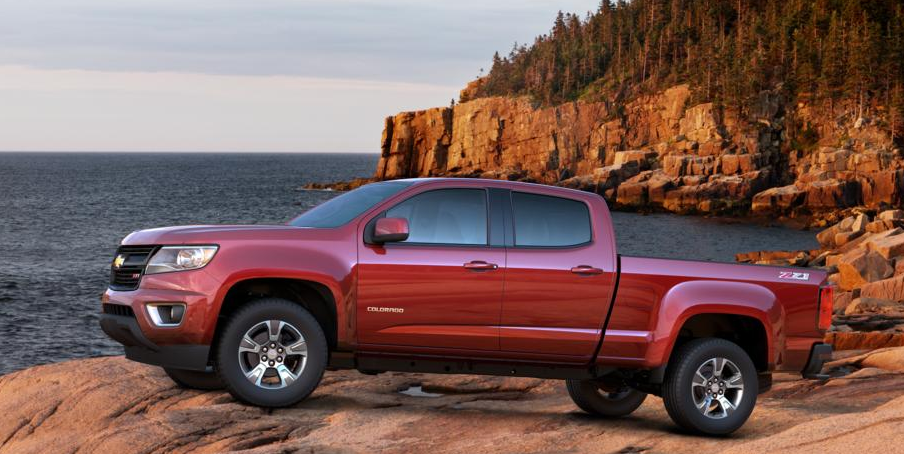 2015 Chevrolet Colorado Will Become Available In 10 Colors