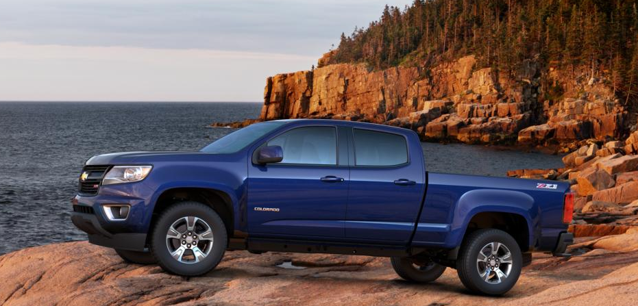 2017 Chevrolet Colorado Will Become Available In 10 Colors