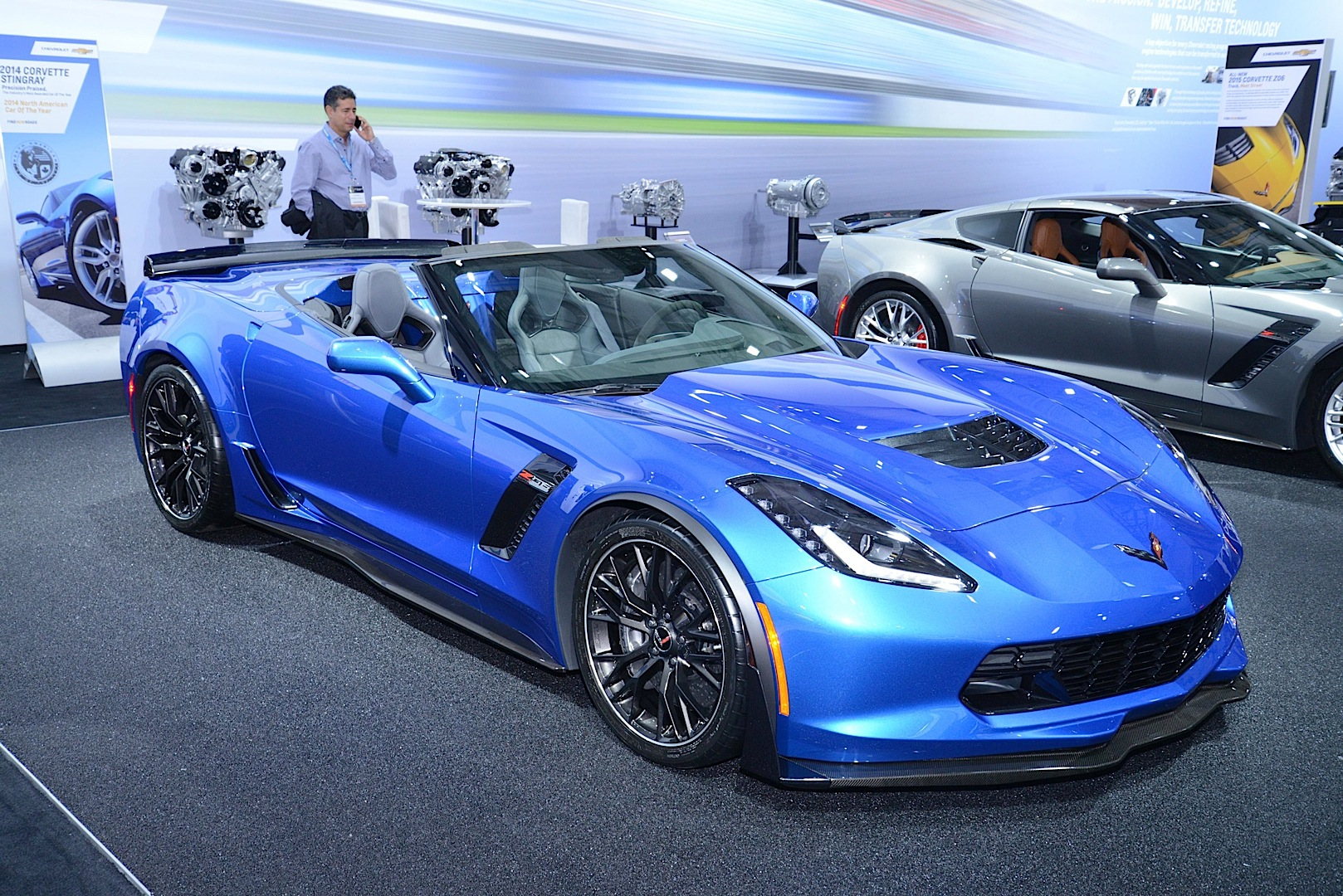 2015 Chevrolet Corvette Z06 Goes Topless At The New York