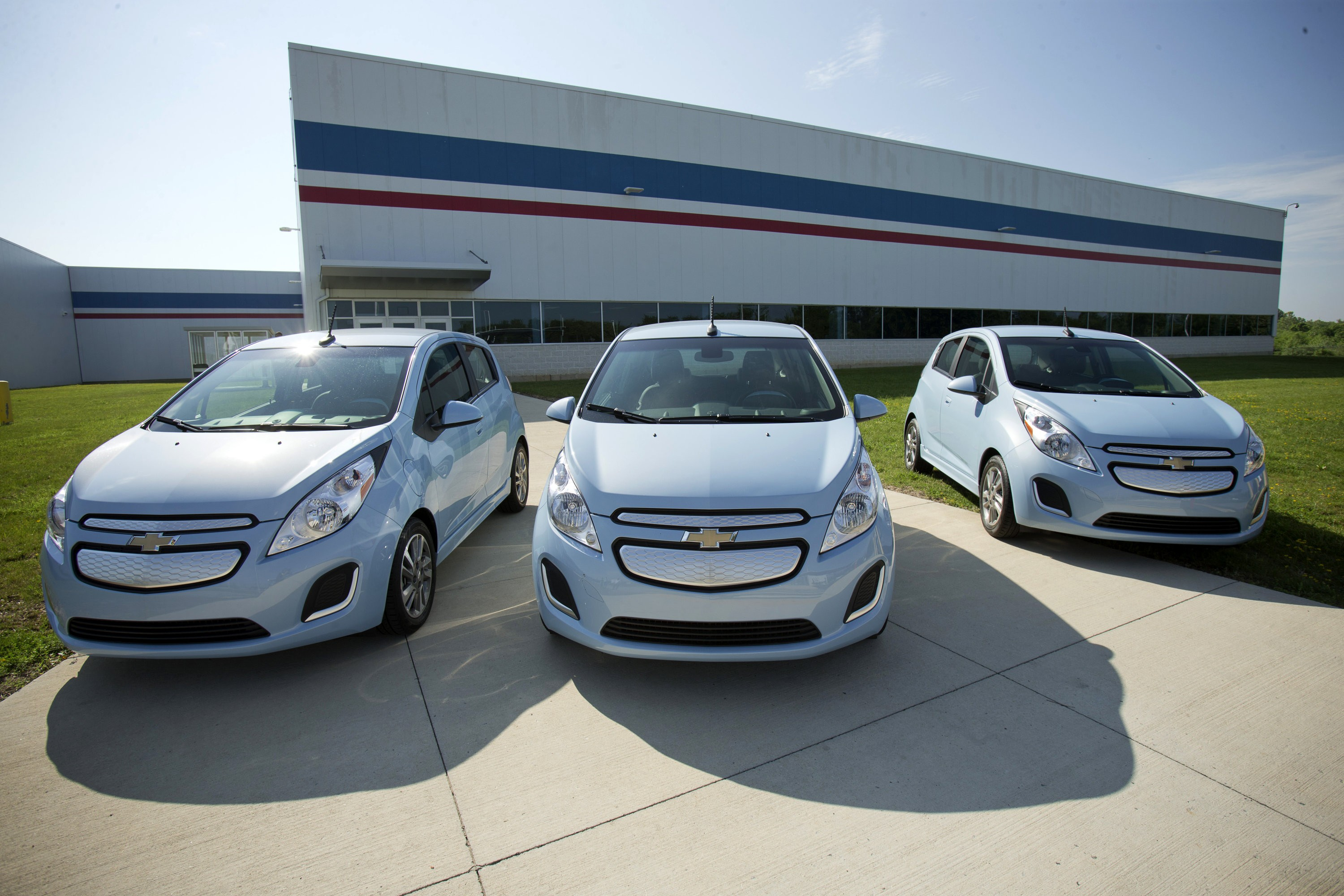 2015 Chevrolet Spark Ev Motor And Drive Unit Are Built In