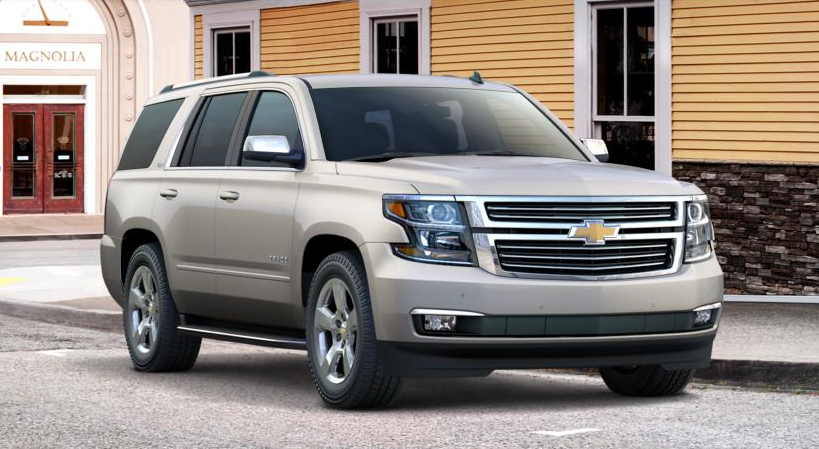 2015 Chevrolet Tahoe, Suburban Color Palette Unveiled ...