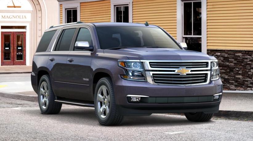 2015 Chevrolet Tahoe, Suburban Color Palette Unveiled ...