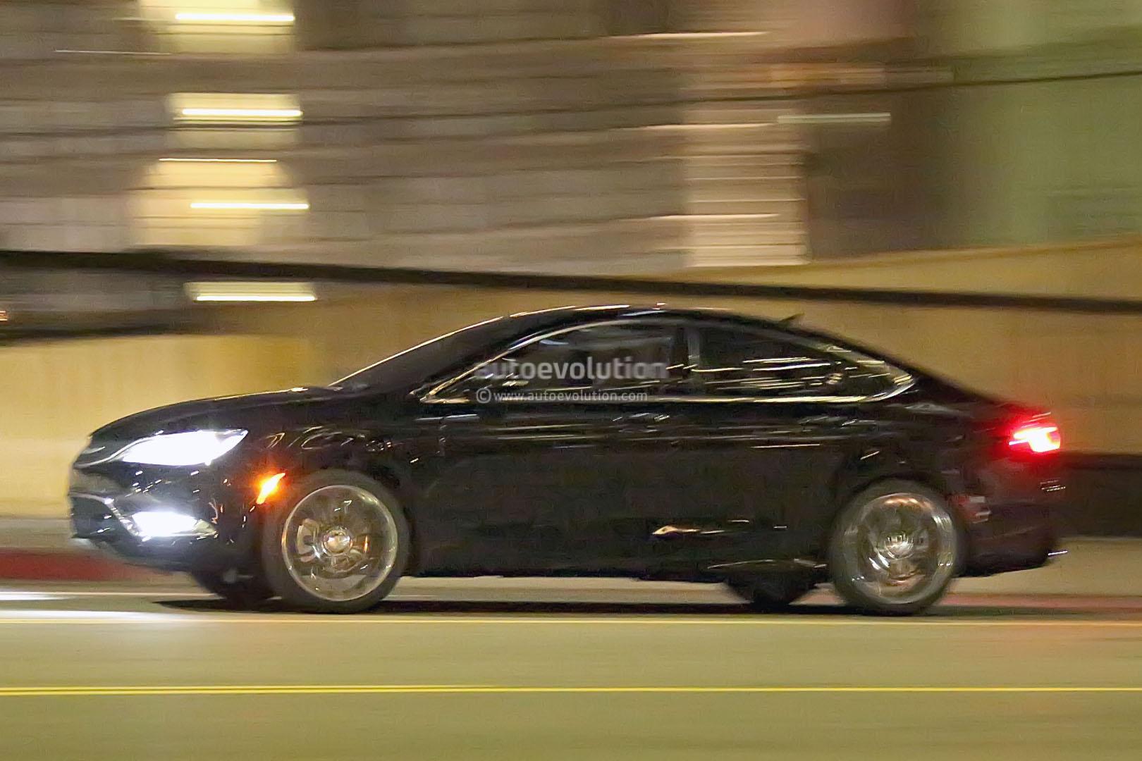2015 Chrysler 200 Sedan Spy Photos Completely Reveal New Design
