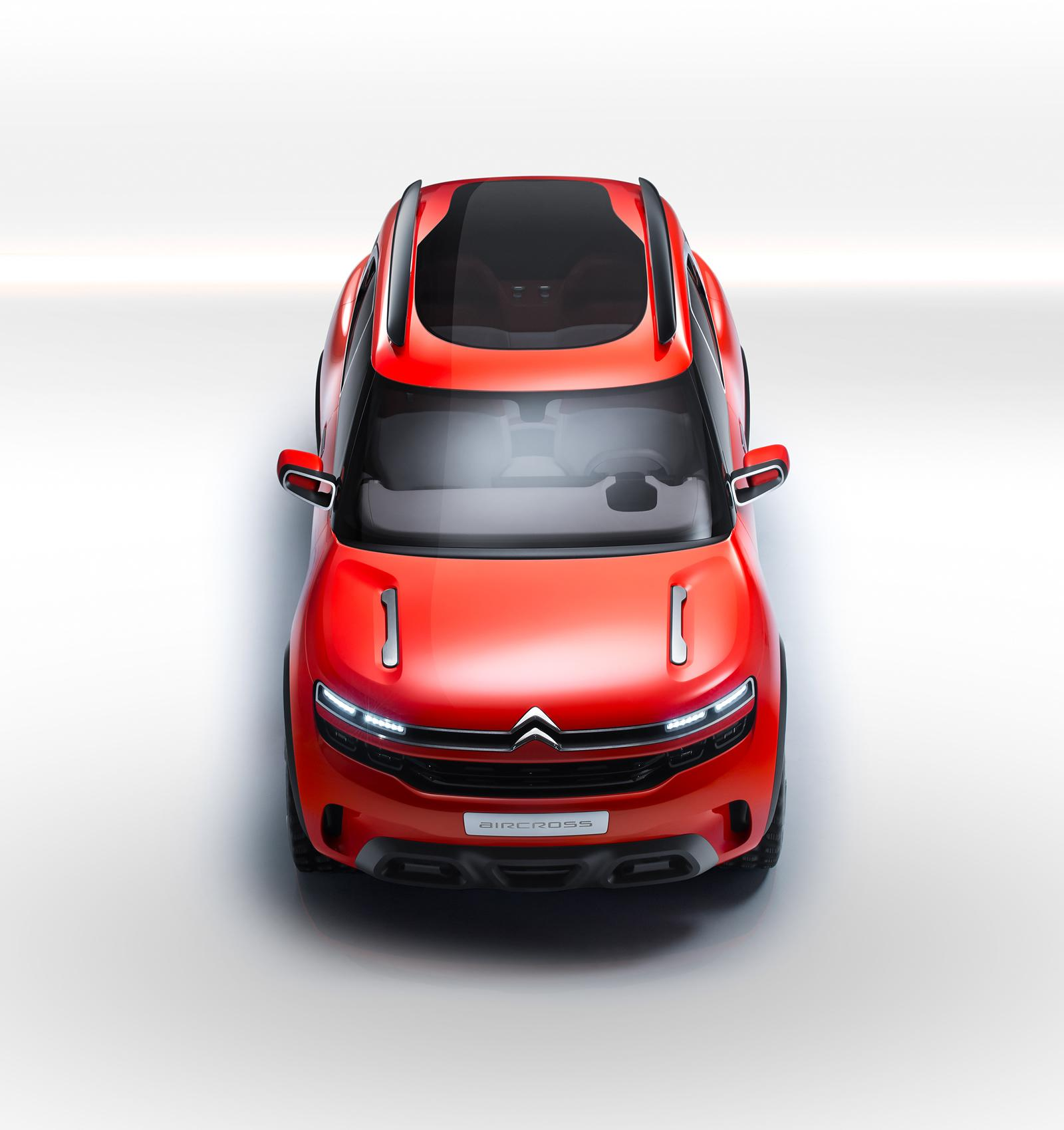 2015 citroen aircross concept revealed ahead of shanghai debut autoevolution. Black Bedroom Furniture Sets. Home Design Ideas