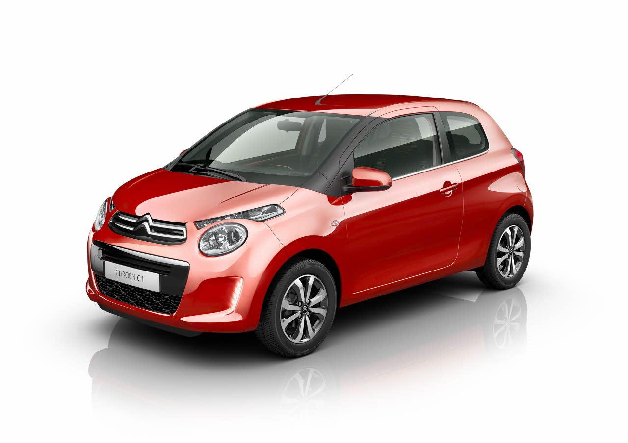 citroen c1 adds blue lagoon paint active city brake lane departure warning autoevolution. Black Bedroom Furniture Sets. Home Design Ideas
