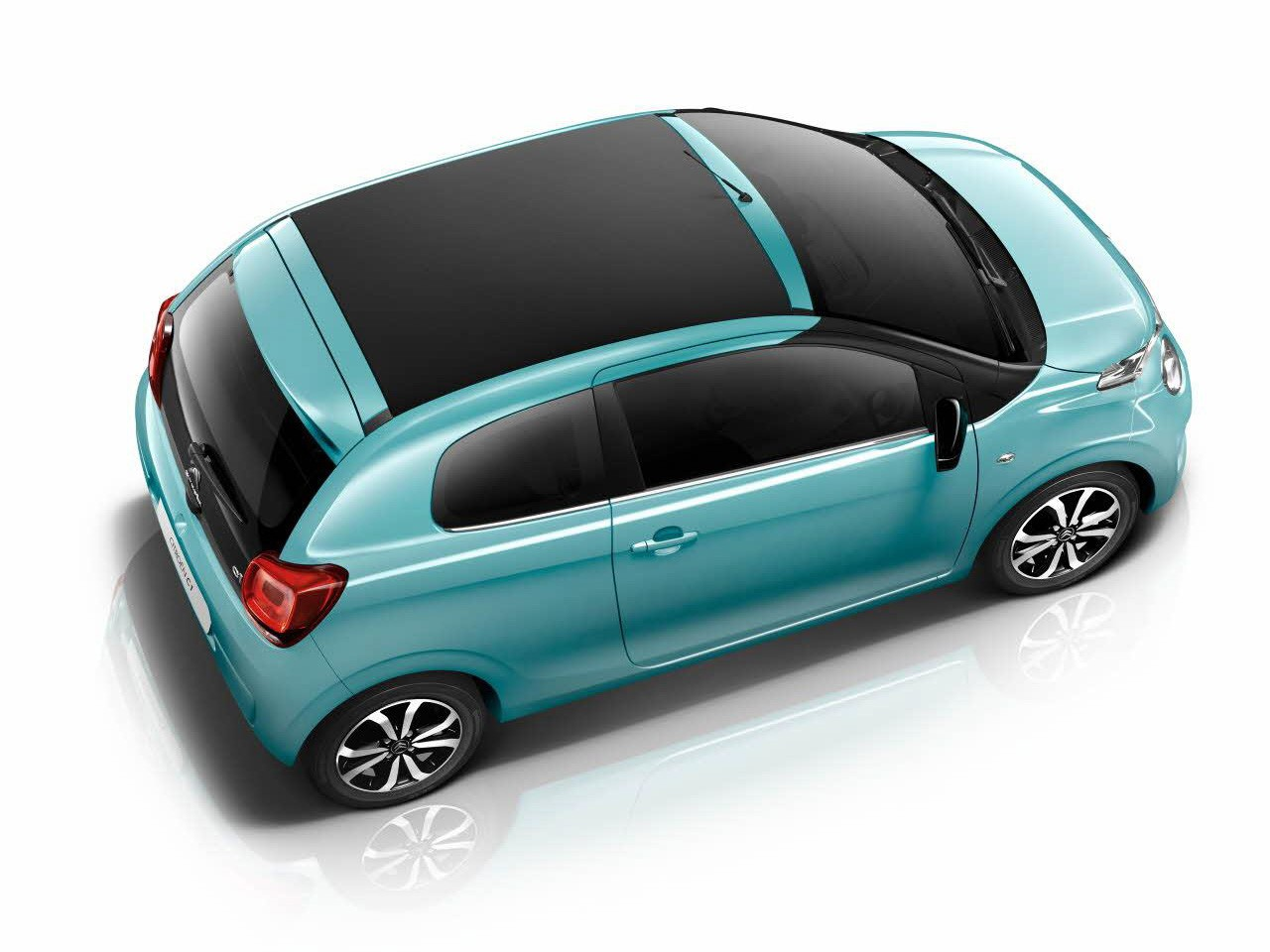 Citroen C1 Adds Blue Lagoon Paint, Active City Brake, Lane ...