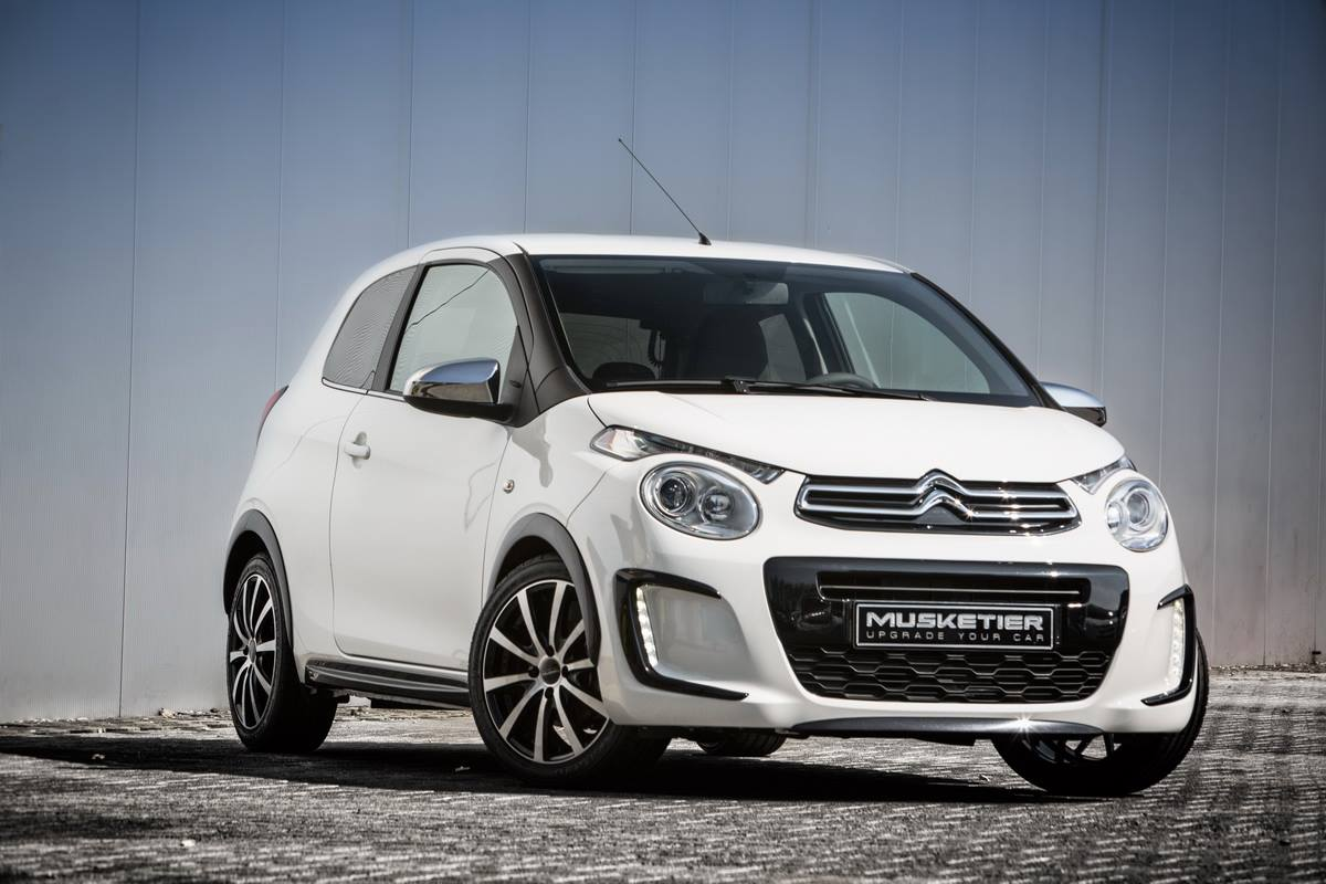 2015 citroen c1 gets quad exhaust in musketier tuning project autoevolution. Black Bedroom Furniture Sets. Home Design Ideas