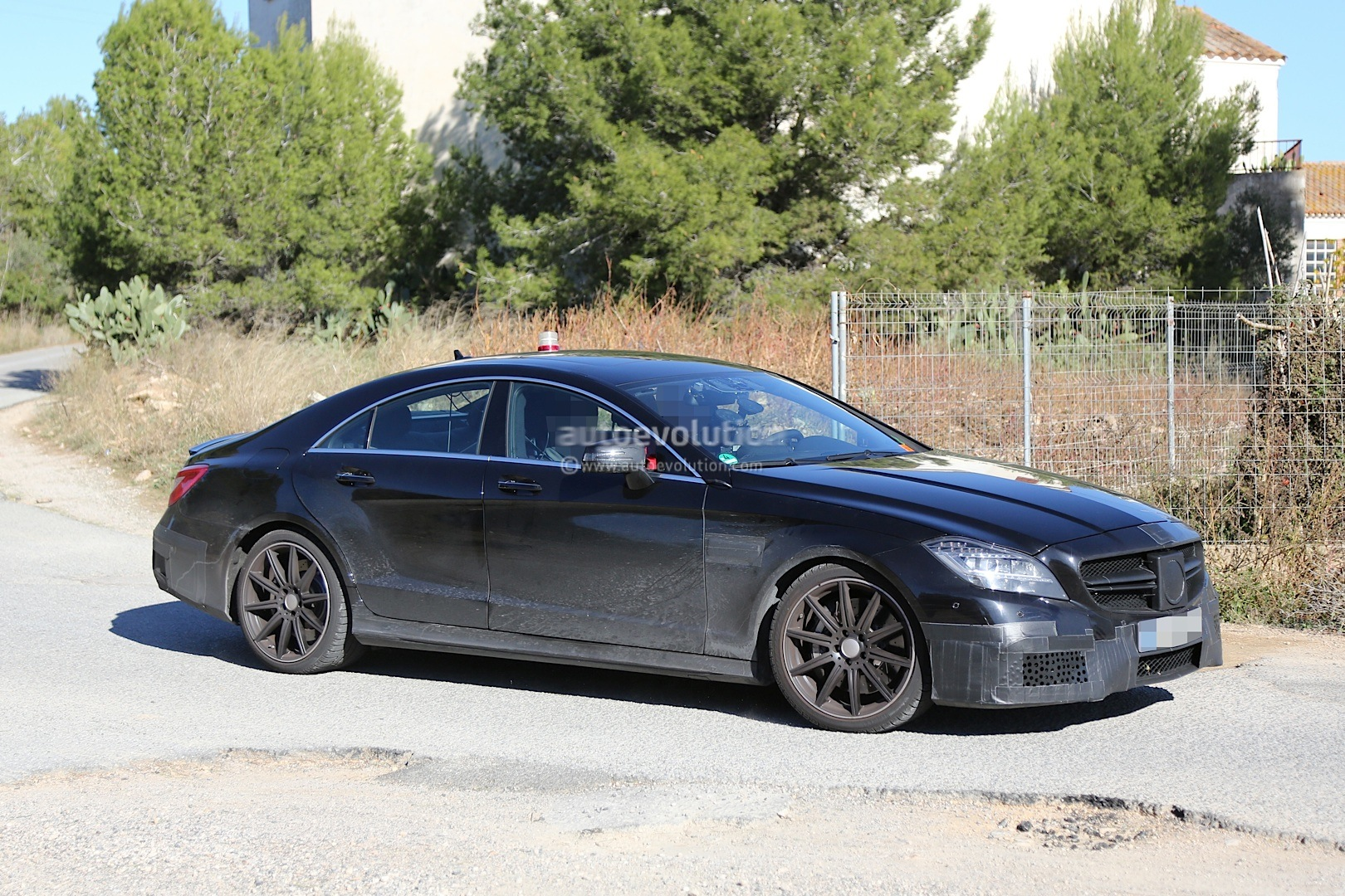 2015 Cls 63 Amg Facelift Caught The First Time In The Open