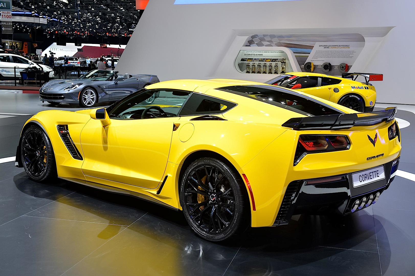 2015 Corvette Z06 Makes European Debut in Geneva [Video ...