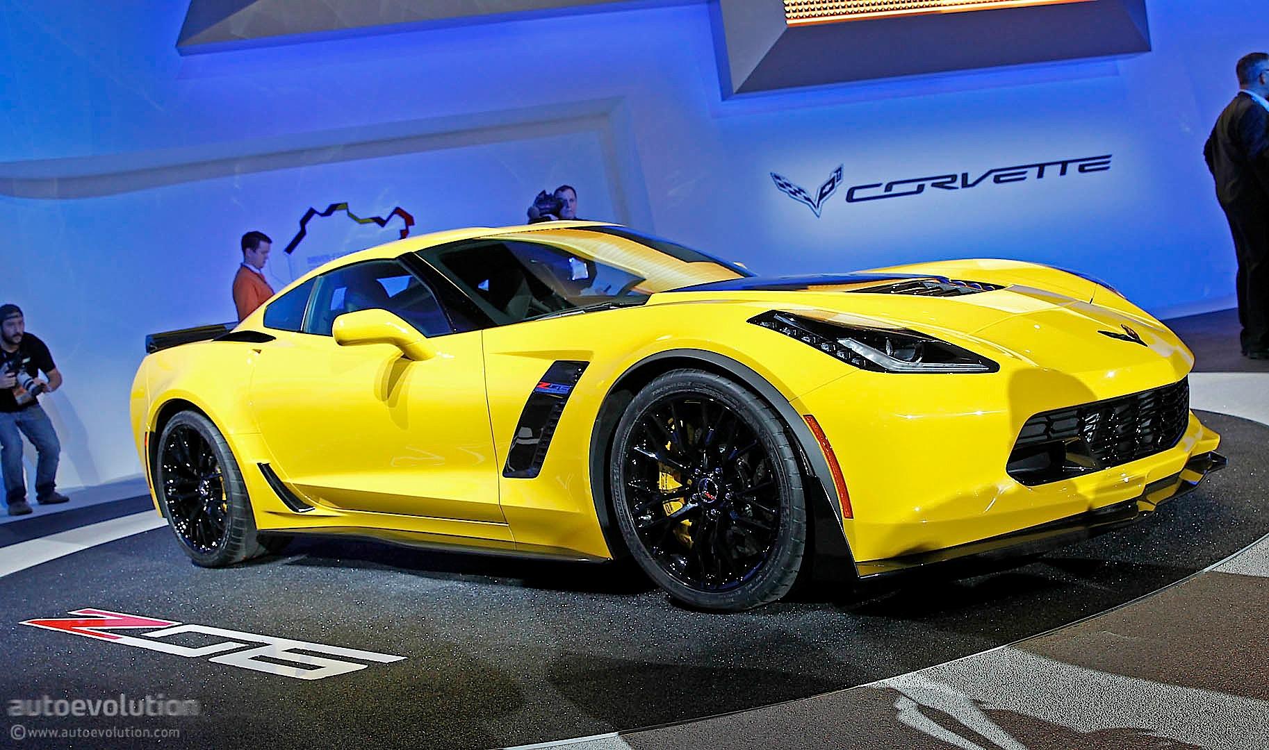 2015 corvette z06 officially revealed in detroit live photos autoevolution. Black Bedroom Furniture Sets. Home Design Ideas