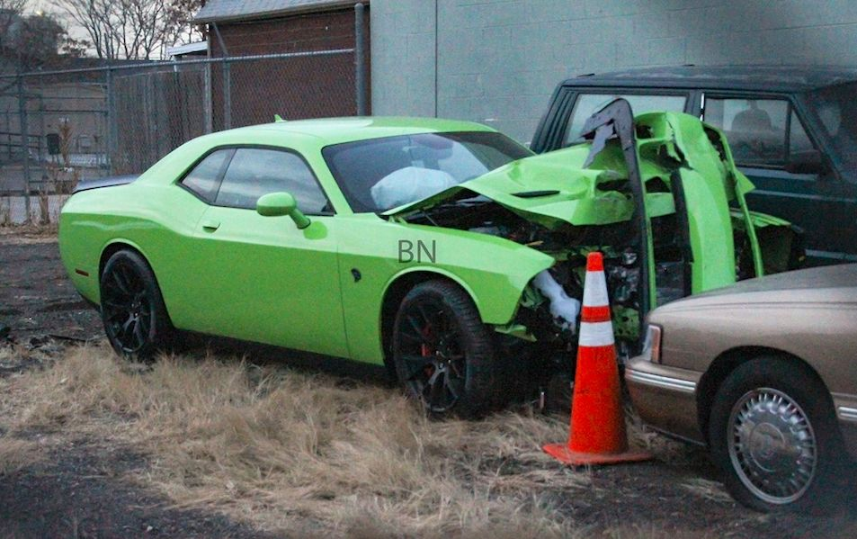 2015 Dodge Challenger SRT Hellcat Crash: Totaled in Colorado after