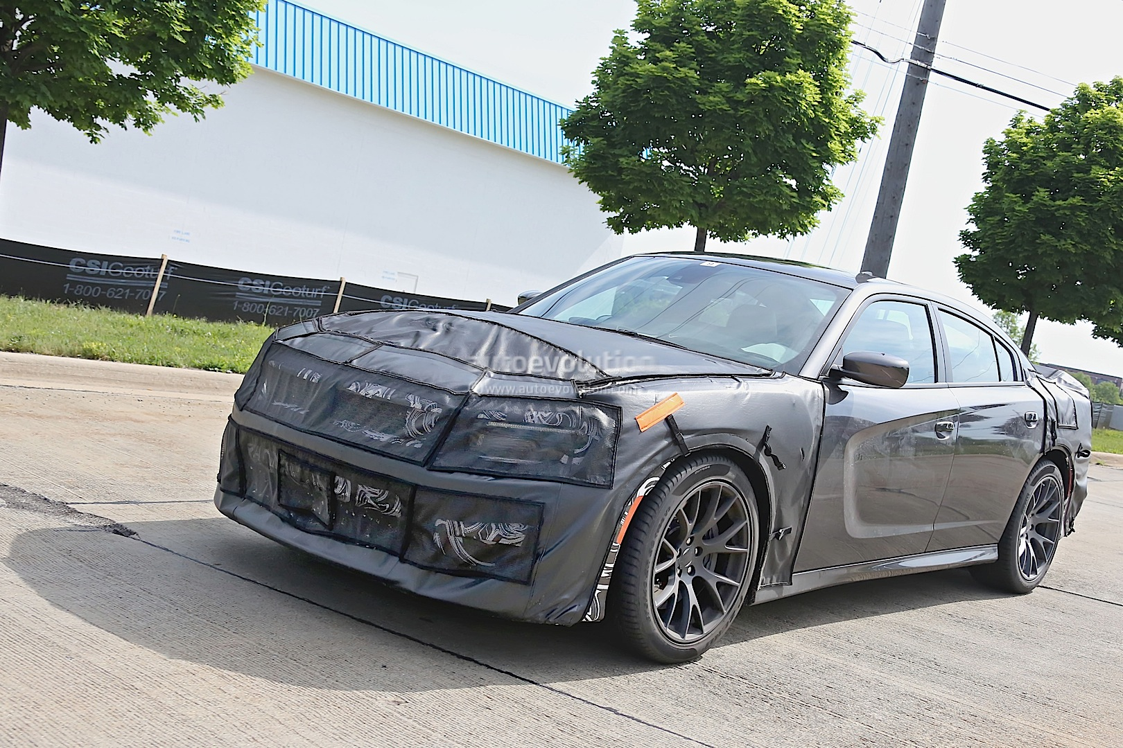 2015 Dodge Charger SRT Hellcat Spied Testing [Photo Gallery] - photo