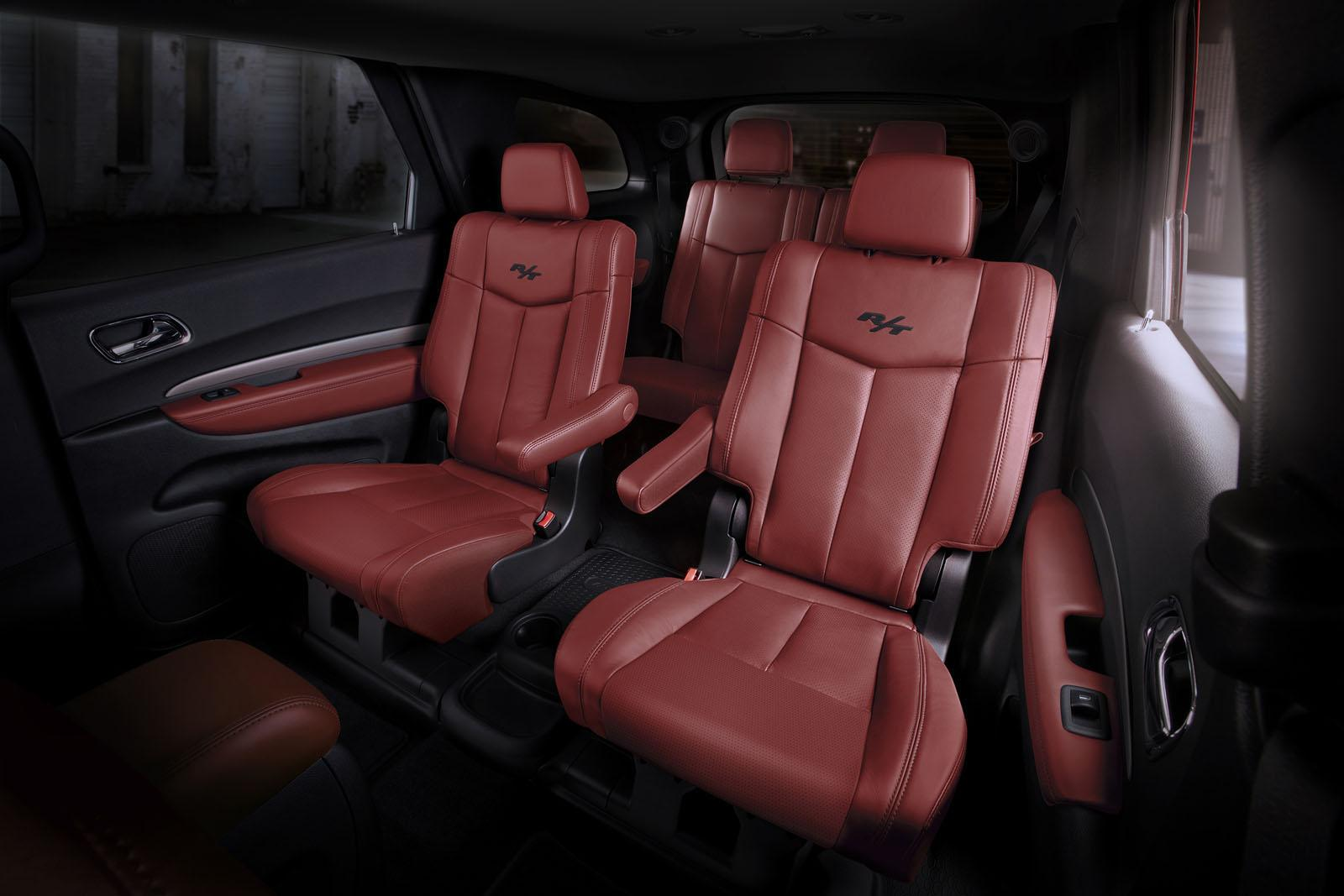 Dodge Durango Radar Red Nappa Leather Seats Now Available On The R T on Dodge Dakota Rt Black