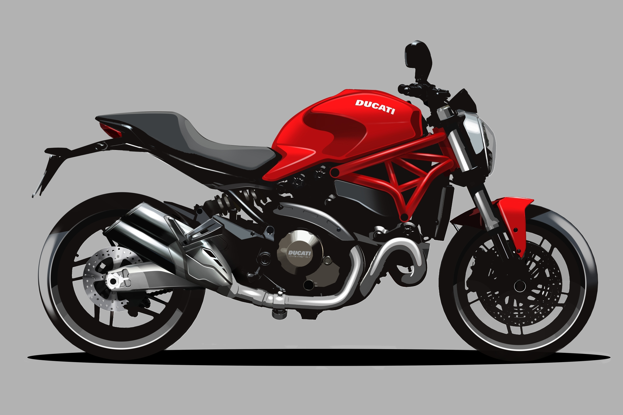 2015 Ducati Monster 821 Huge Pic Collection Autoevolution