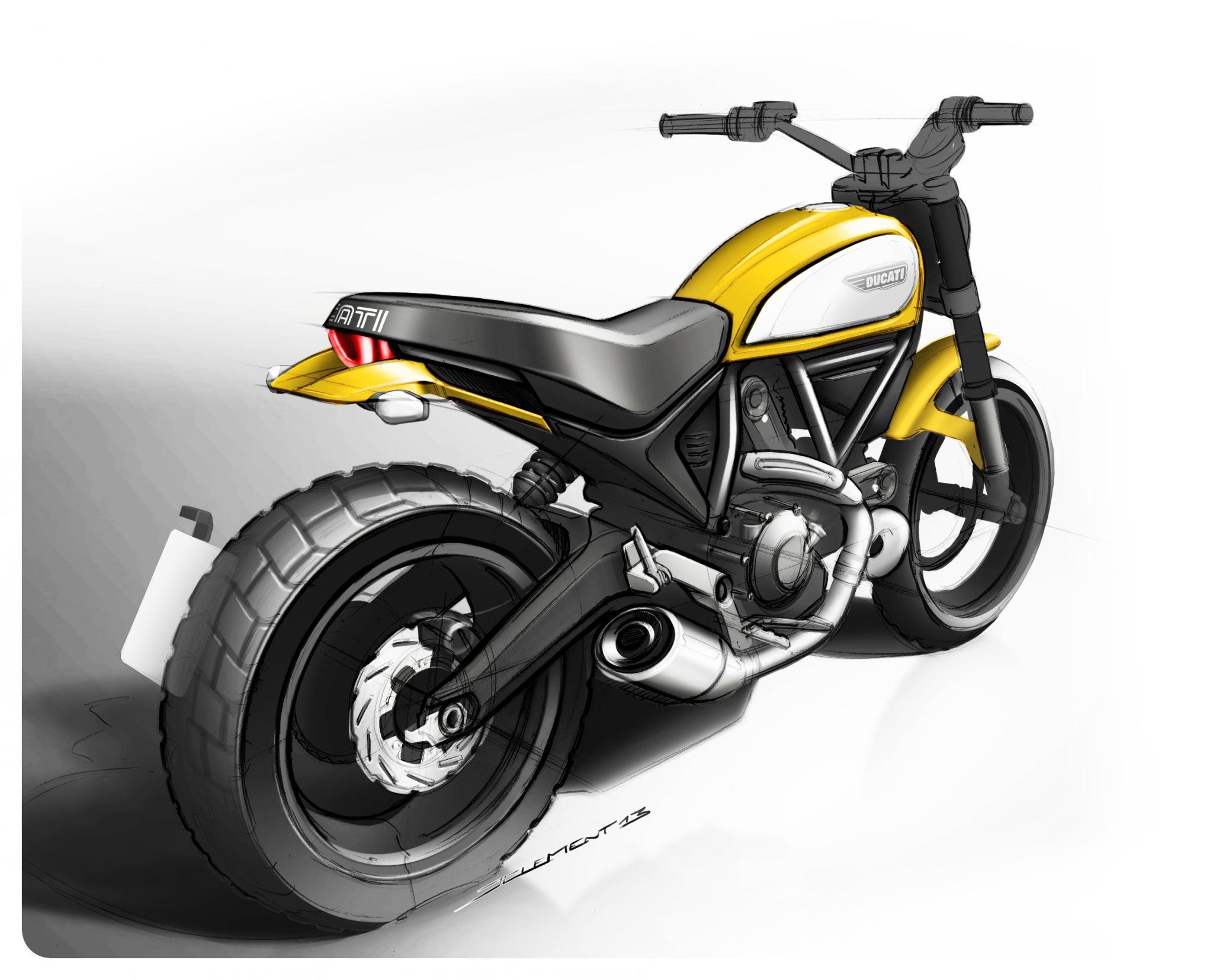 75 Pics Of The 2015 Ducati Scrambler And It Doesn T Look