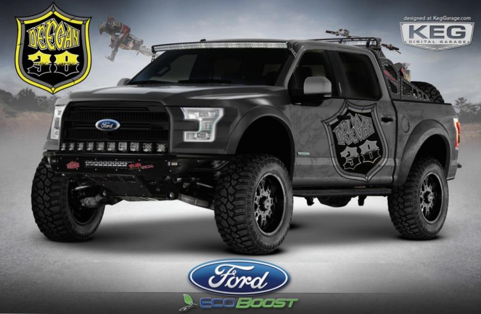 2017 Ford F 150 Brian Deegan 38 Special Sema Truck