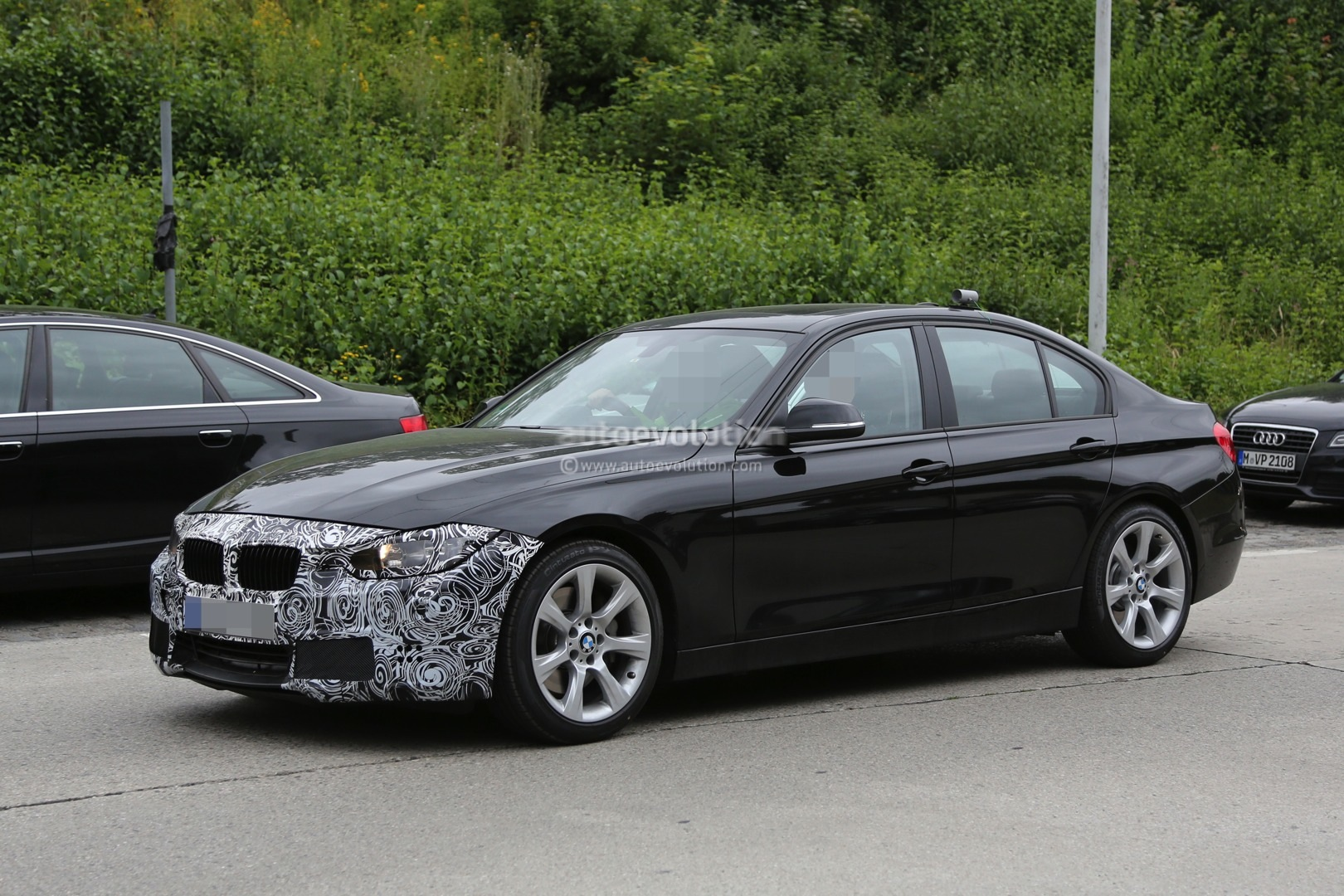 2015 Facelift BMW 3 Series Sedan and Touring Spied Testing ...