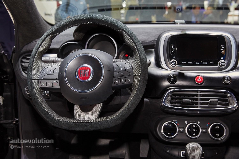 2015 Fiat 500x Black Tie Concept Is A Yuppie Fashion Victim Autoevolution