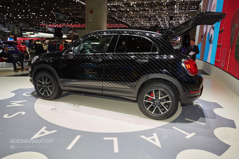 Chrysler 200 Sedan >> 2015 Fiat 500X Black Tie Concept is a Yuppie Fashion Victim - autoevolution