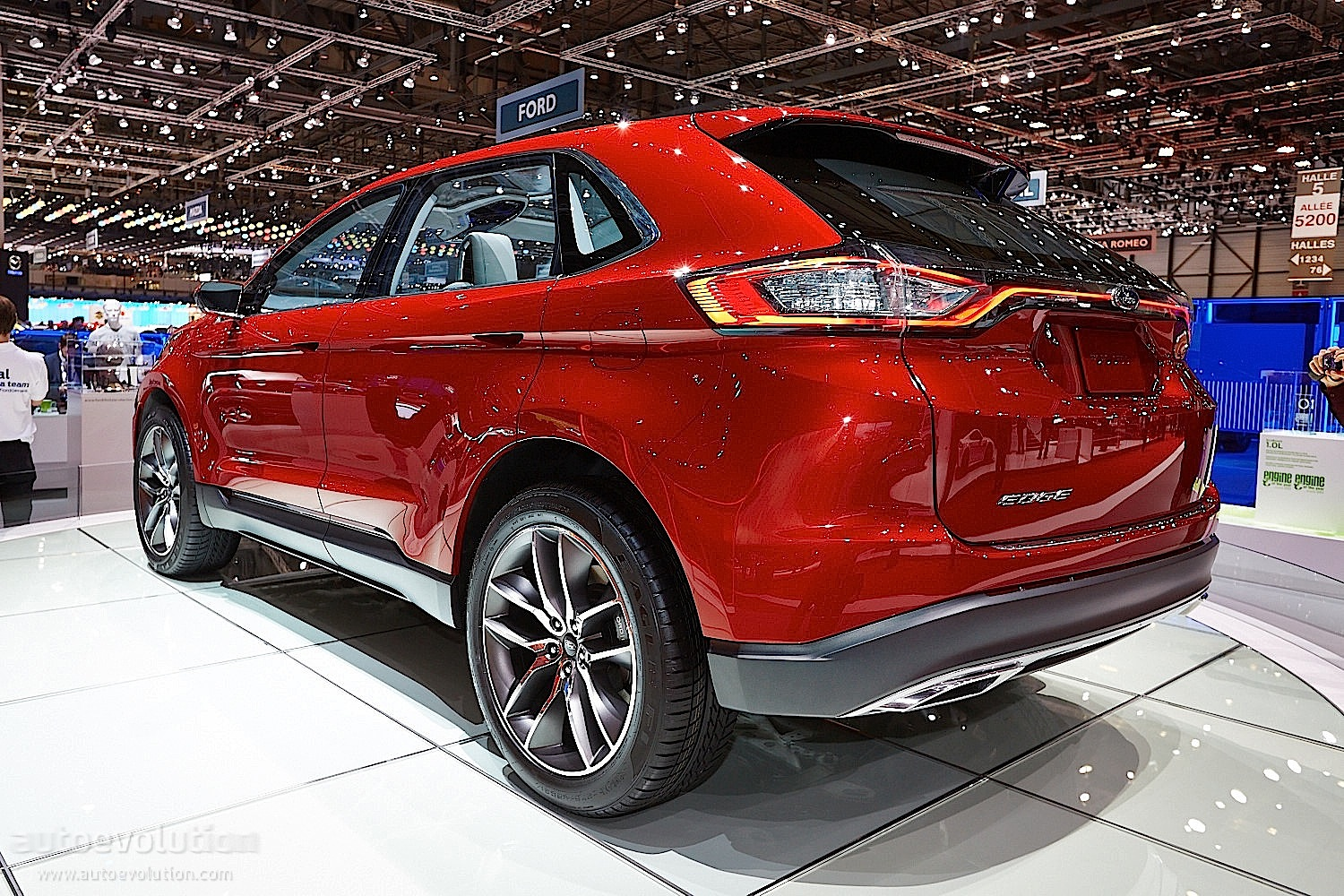 2015 Ford Edge concept @ Geneva Motor Show - photo gallery