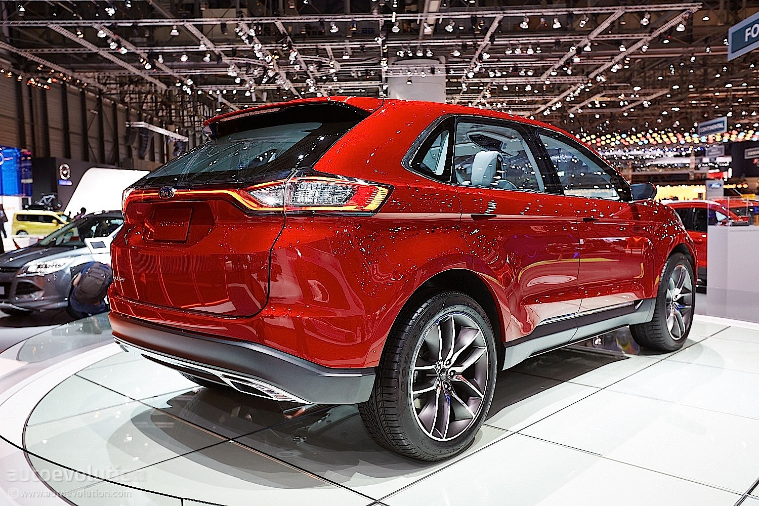 2015 ford edge at geneva motor show live photos. Black Bedroom Furniture Sets. Home Design Ideas