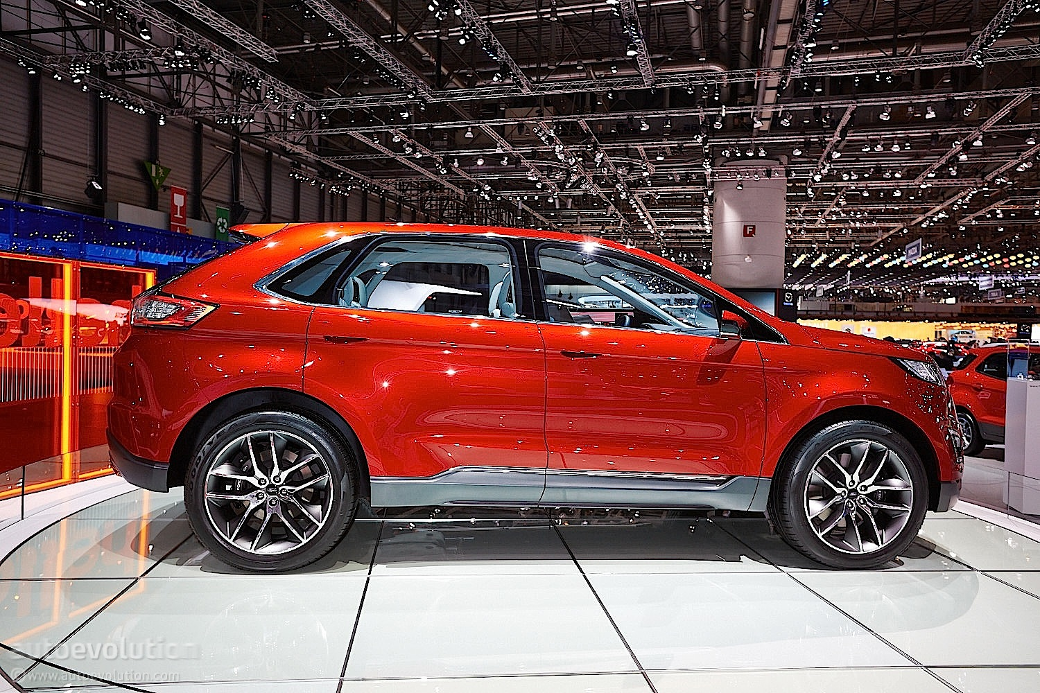 2015 ford edge at geneva motor show live photos autoevolution. Black Bedroom Furniture Sets. Home Design Ideas
