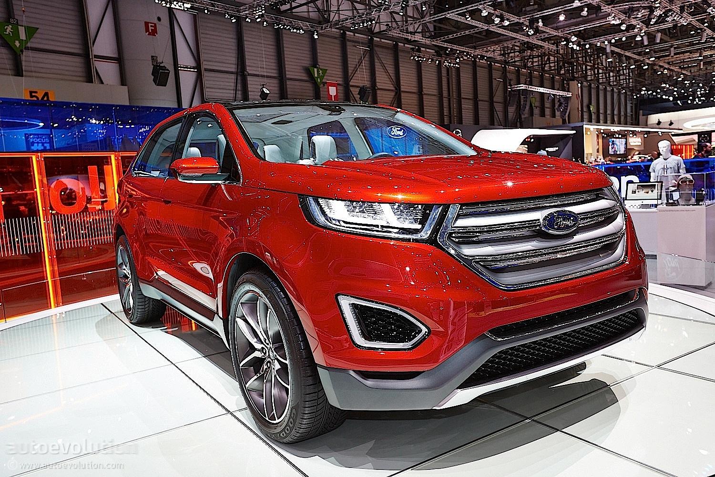 2015 Ford Edge At Geneva Motor Show Live Photos