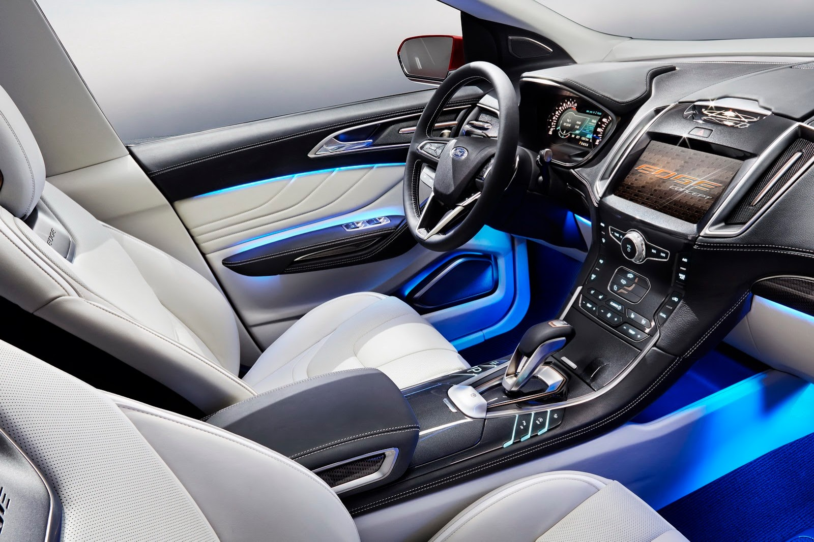2015 ford edge concept unveiled autoevolution. Black Bedroom Furniture Sets. Home Design Ideas