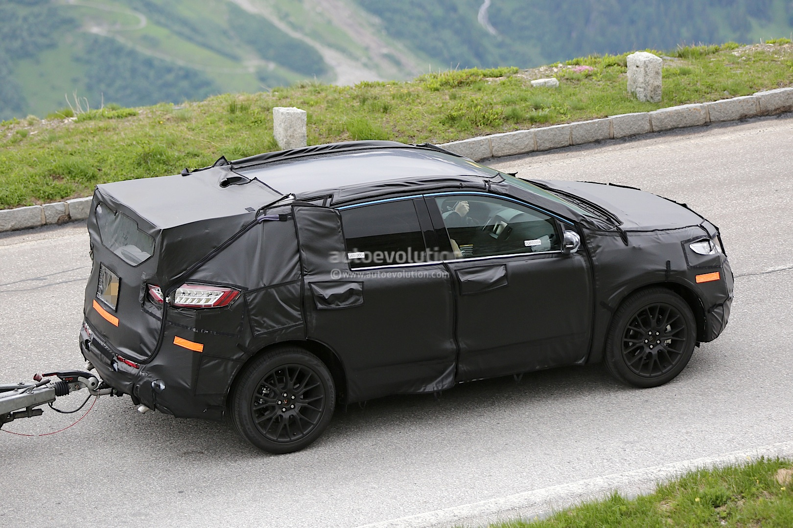 2015 Ford Edge Spied Testing In Europe Autoevolution
