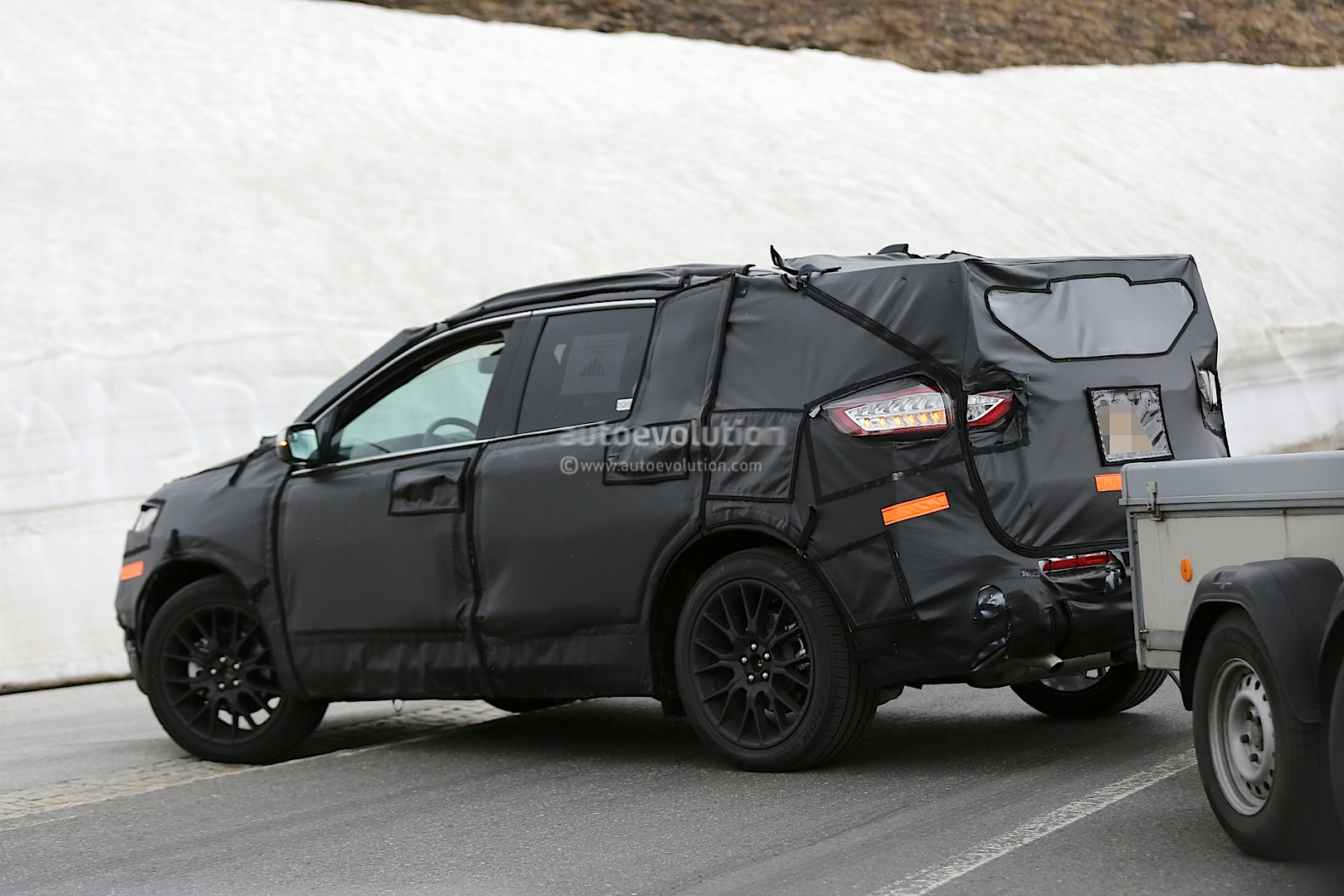 2015 ford edge spied testing in europe autoevolution. Black Bedroom Furniture Sets. Home Design Ideas