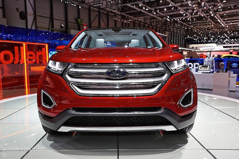 2015 ford edge concept geneva motor show