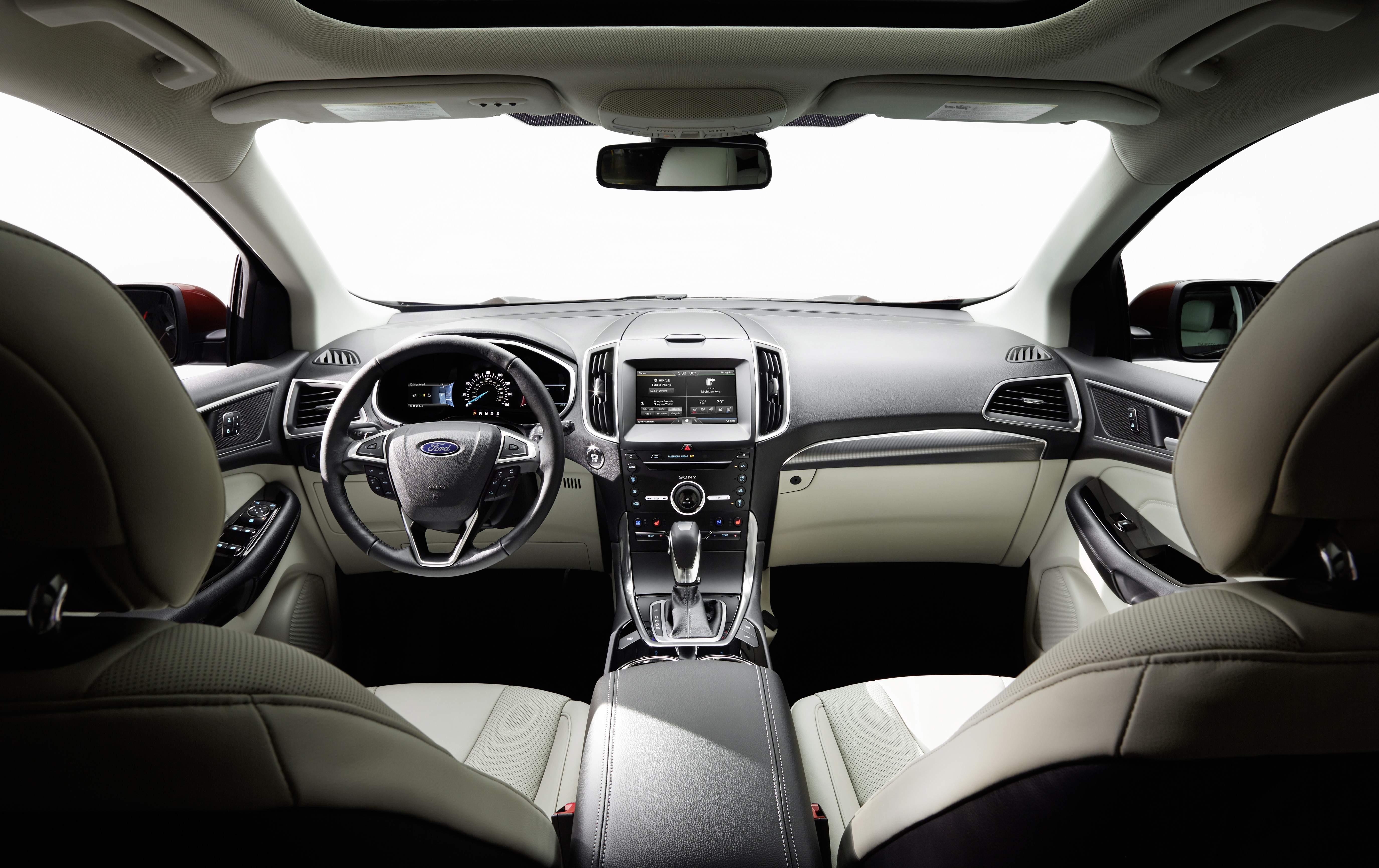 Developed From The Ground Up To Be Easily Convertible To Right Hand Drive For The British And Australian Markets The  Ford Edge Has A Surprise For