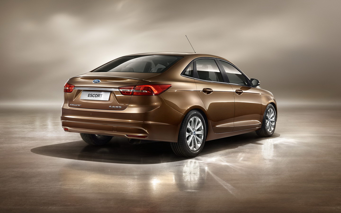 2014 Ford Focus Sedan >> 2015 Ford Escort to Debut at Guangzhou Auto Show - autoevolution