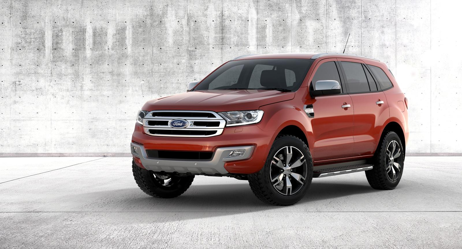 2015 ford everest is a rough ready suv video autoevolution. Black Bedroom Furniture Sets. Home Design Ideas