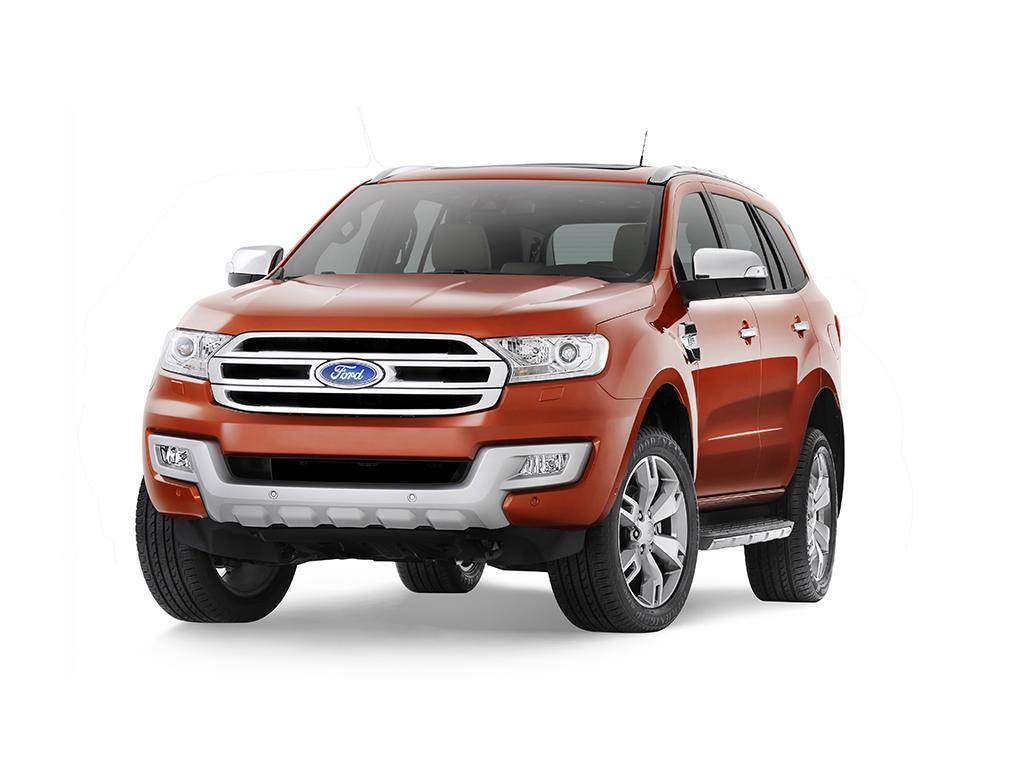 2015 Ford Everest Is a Rough & Ready SUV [Video] - autoevolution